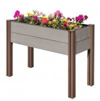 Wood Plastic Composite Raised Garden Bed | Stratco USA