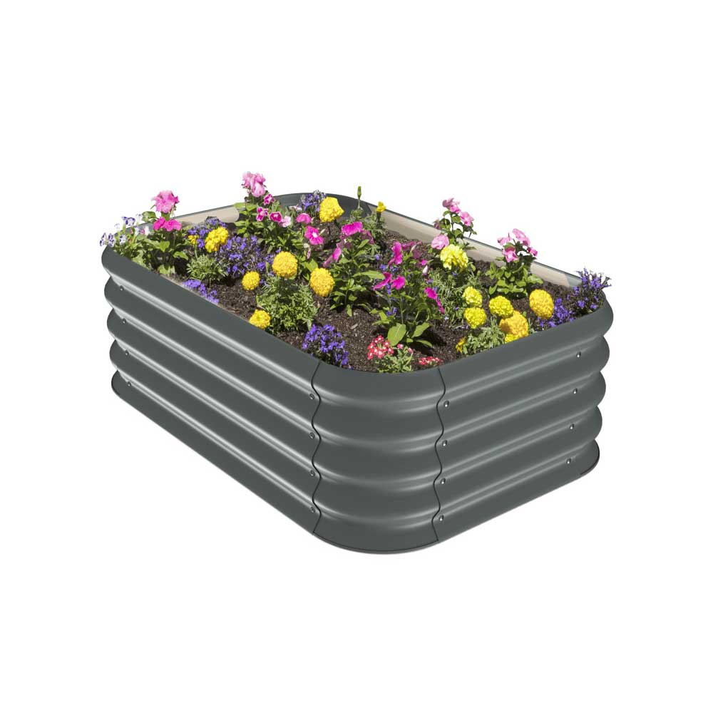Corrugated Raised Garden Bed | Stratco USA