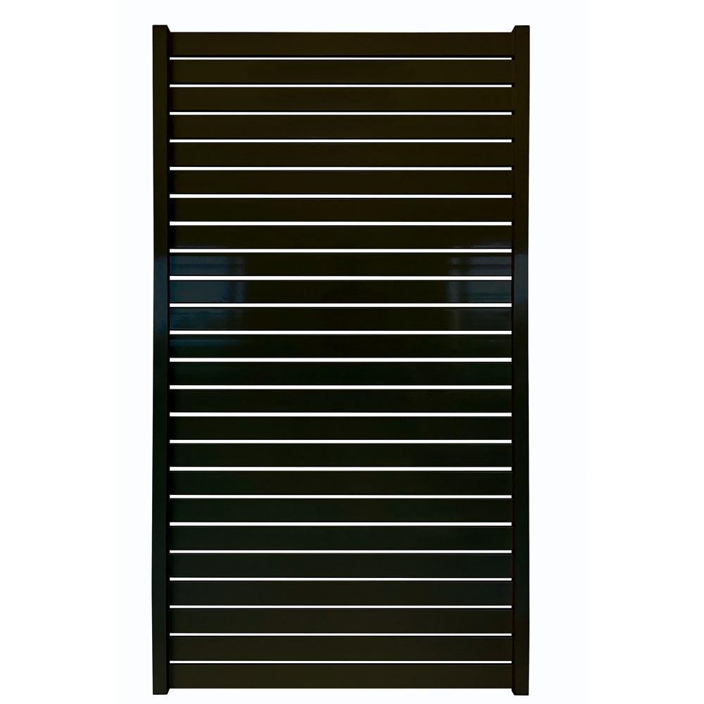 horizontal-slat-fencing-gate-black