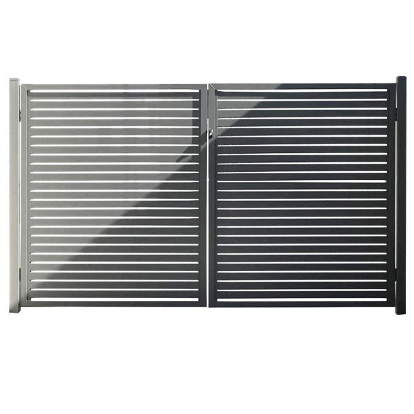 horizontal-slat-fencing-gate-slate-gray