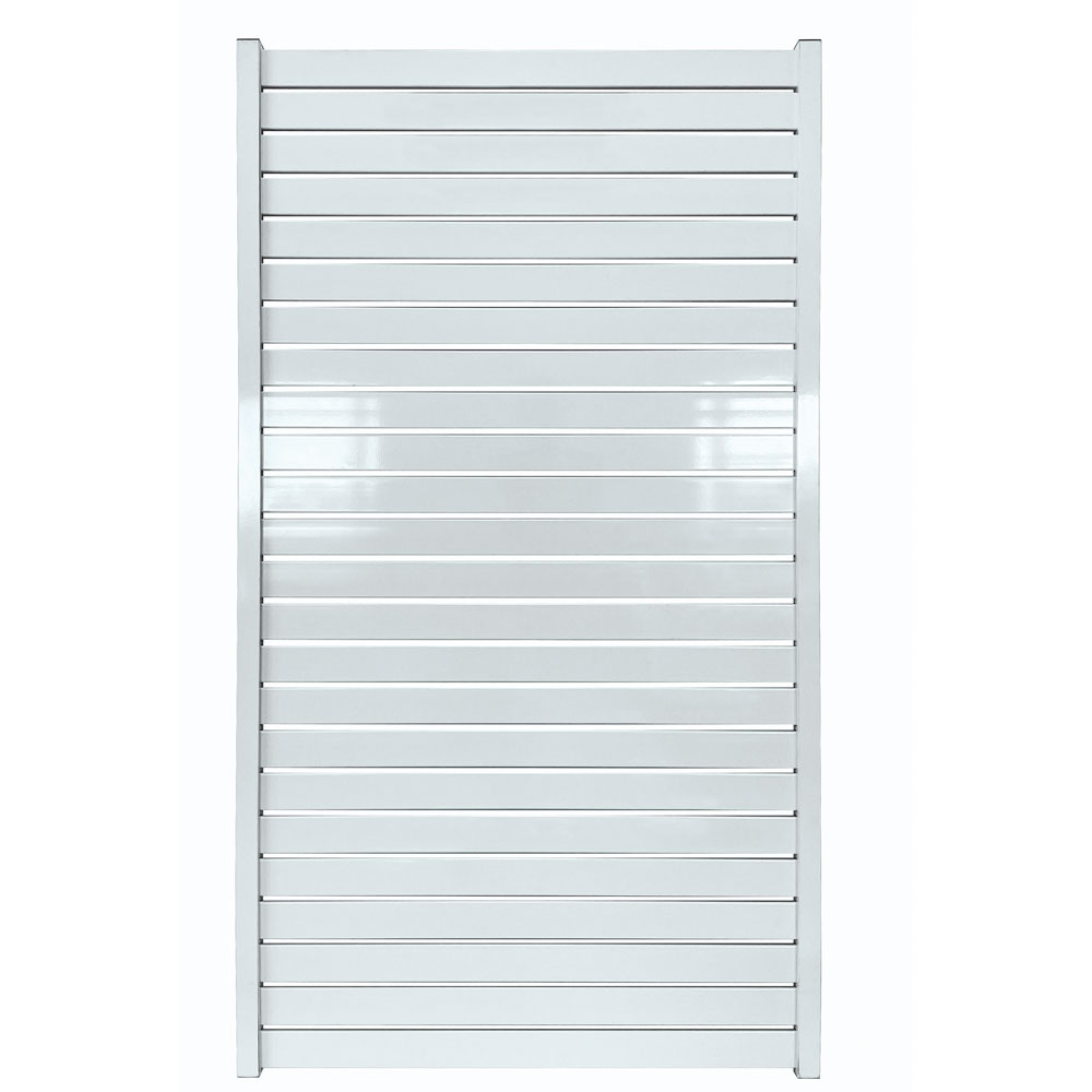 horizontal-slat-fencing-gate-white